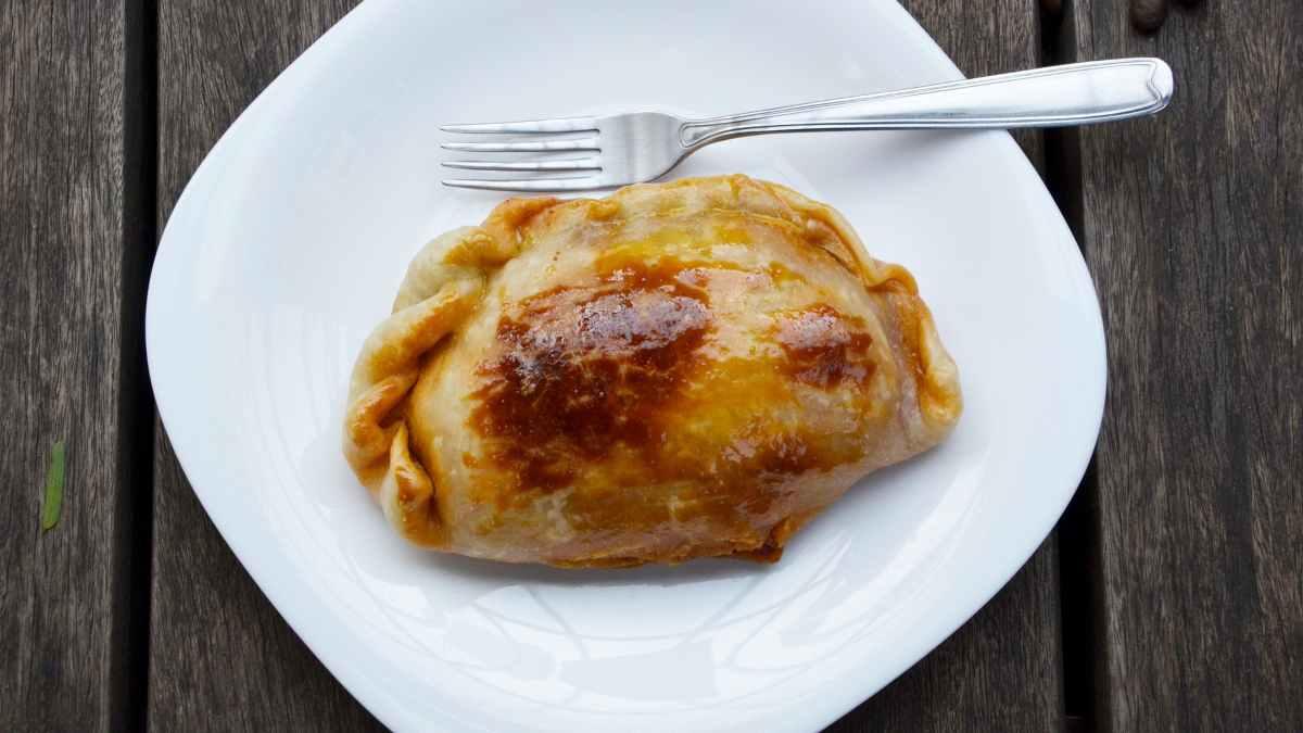Receta de Empanada casera de maíz, beicon y champiñones 1