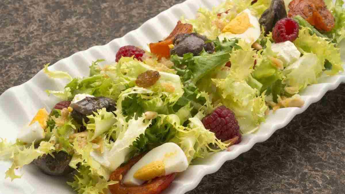 Receta de ensalada de escarola, mango y aguacate 1