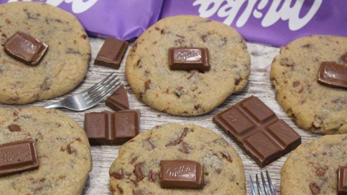 Receta de galletas de chocolate Milka 1