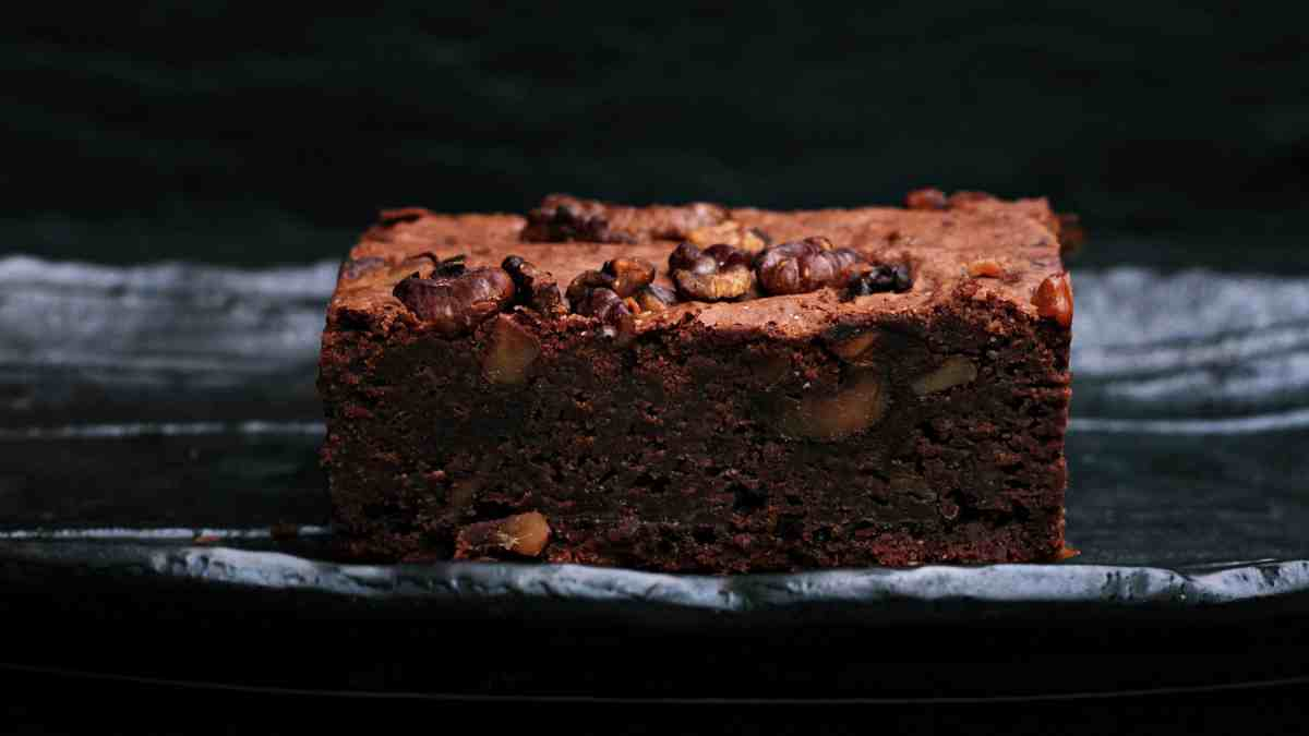 Receta de Brownie de plátano y chocolate al microondas 1