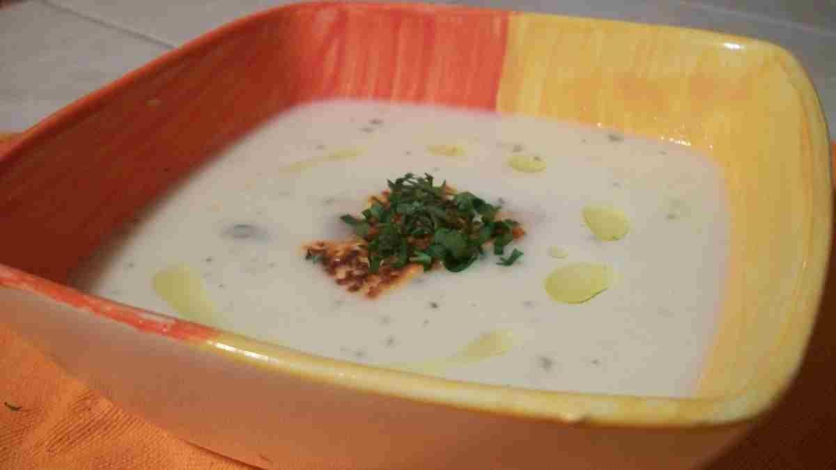 Photo of Receta de Crema de coliflor y puerro con azafrán