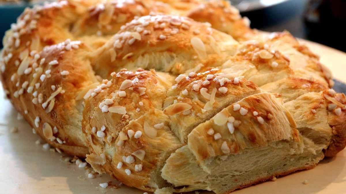Receta de Trenza suiza de pan de leche 1
