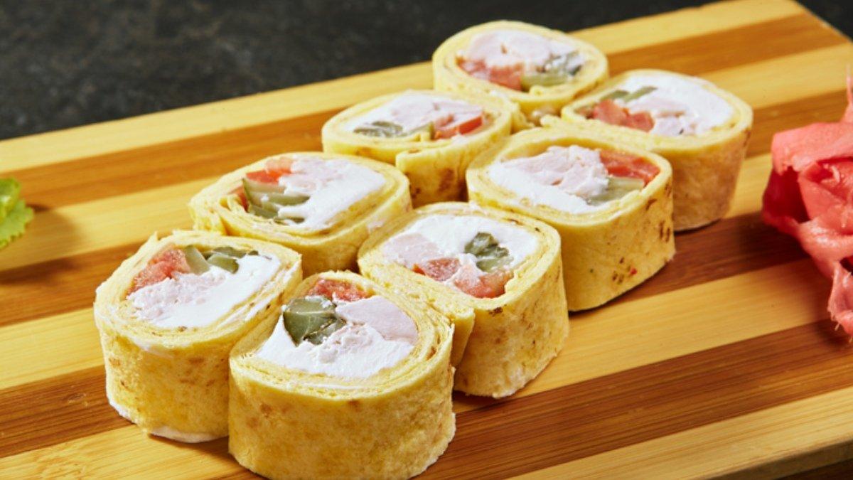 Photo of Receta de rollitos de tortilla con pimientos y queso