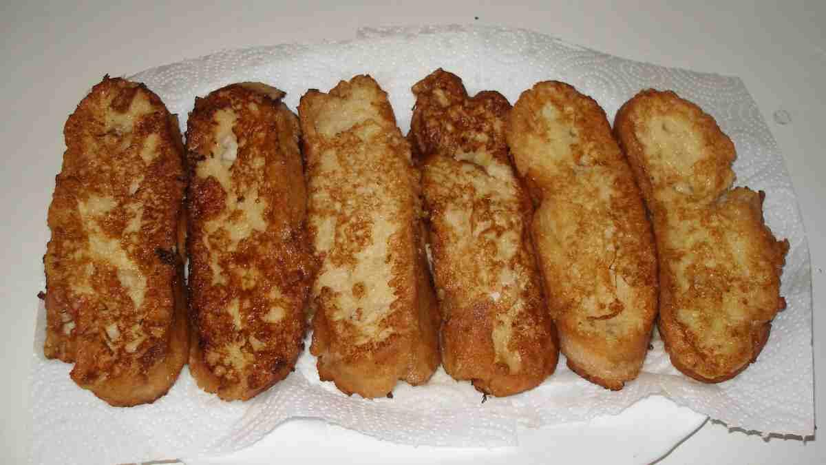 Photo of Receta de Torrijas de leche caseras al horno