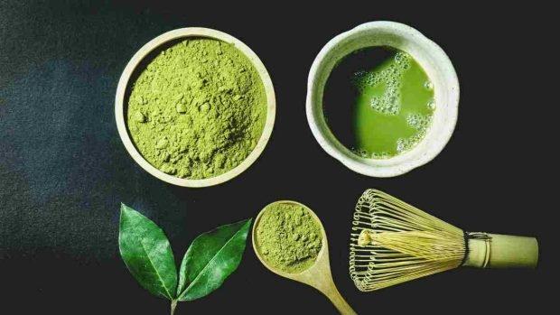 Receta de bizcocho de té Matcha
