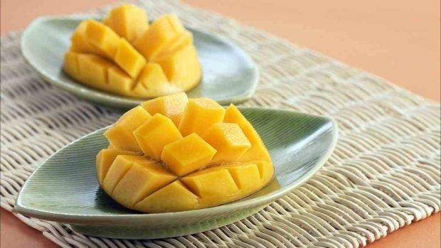 Receta de helado de mango con solo 2 ingredientes