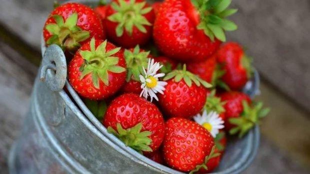Receta de hojaldre de fresa y mermelada