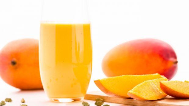 Receta para lasaña de mango con brandada de bacalao