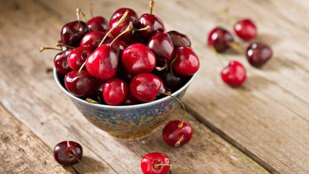Receta de panna cotta de cereza