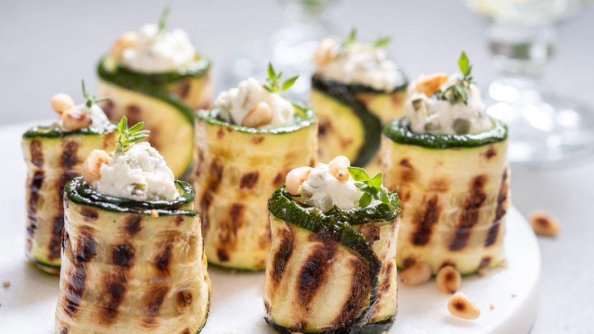 Photo of Receta de canelones de calabacín y queso