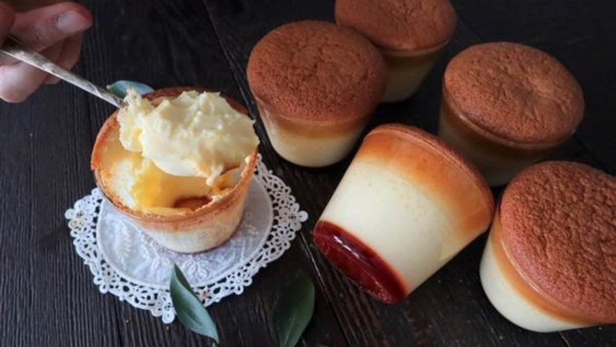 Photo of Receta de flan japonés en vaso
