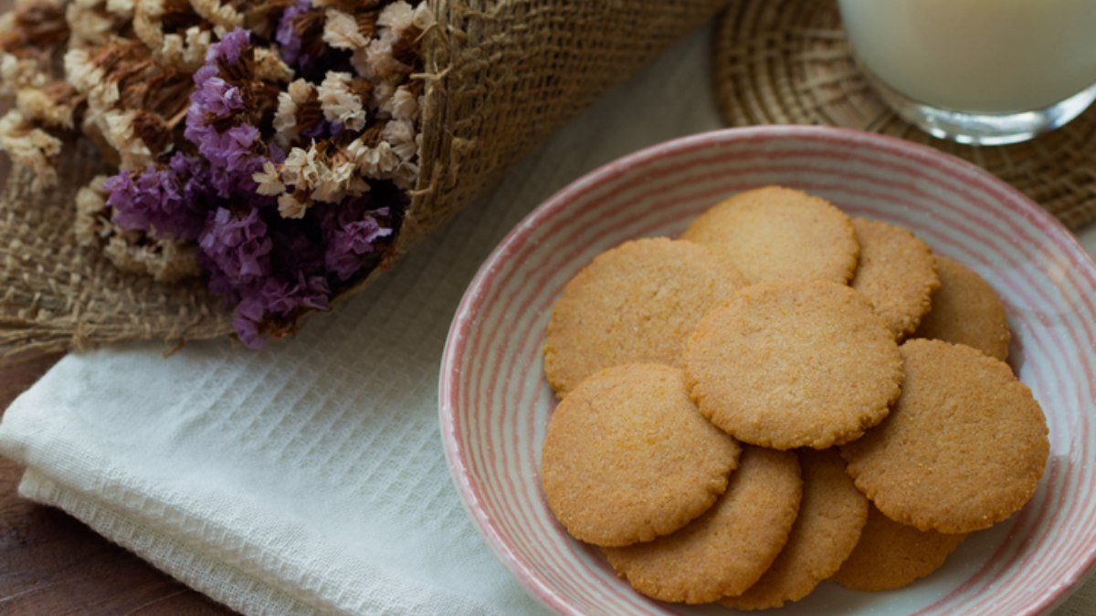 Receta de galletas crujientes de miel 1