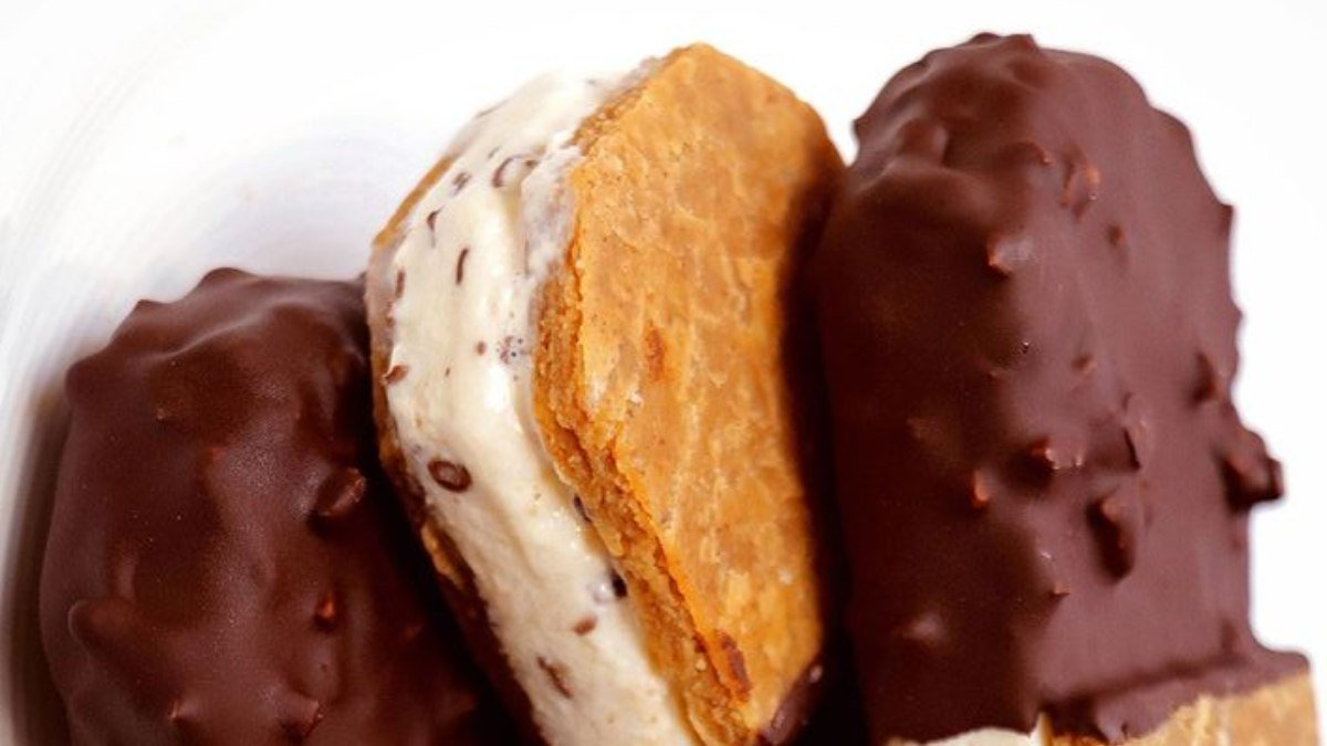 Photo of Receta de Maxibon con chocolate crujiente saludable