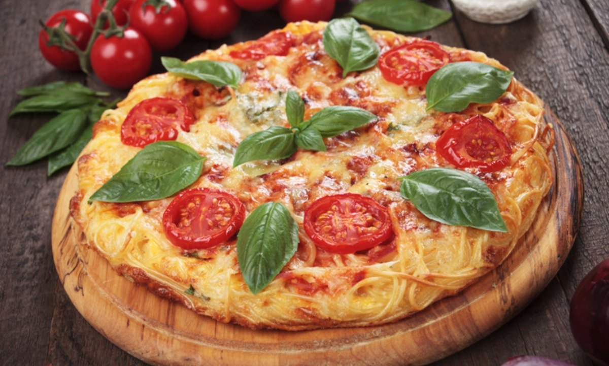 Photo of Receta de pizza de espaguetis
