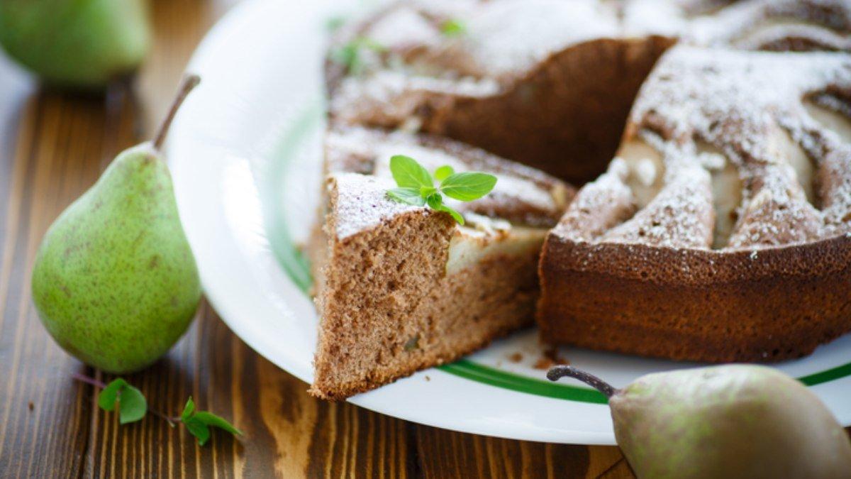 Receta de pudin de pera con chocolate 1