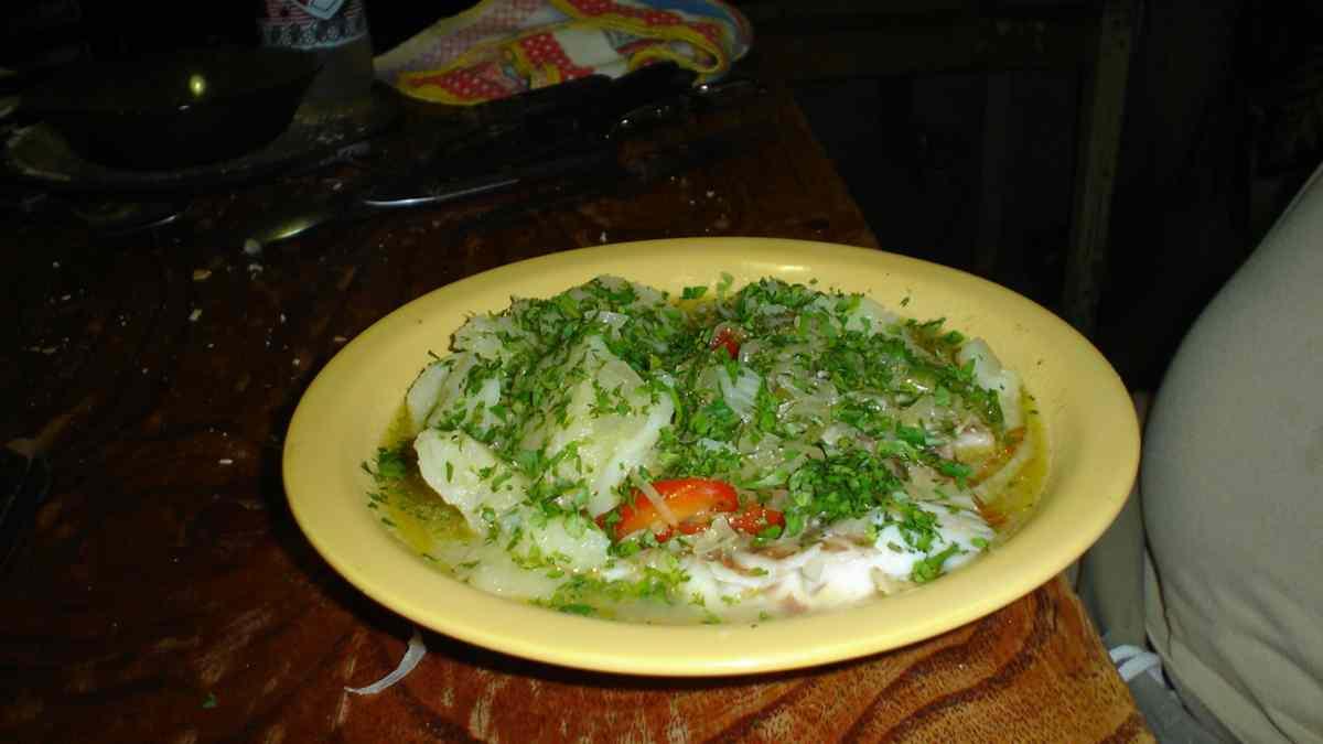 Photo of Receta de abadejo en salsa verde