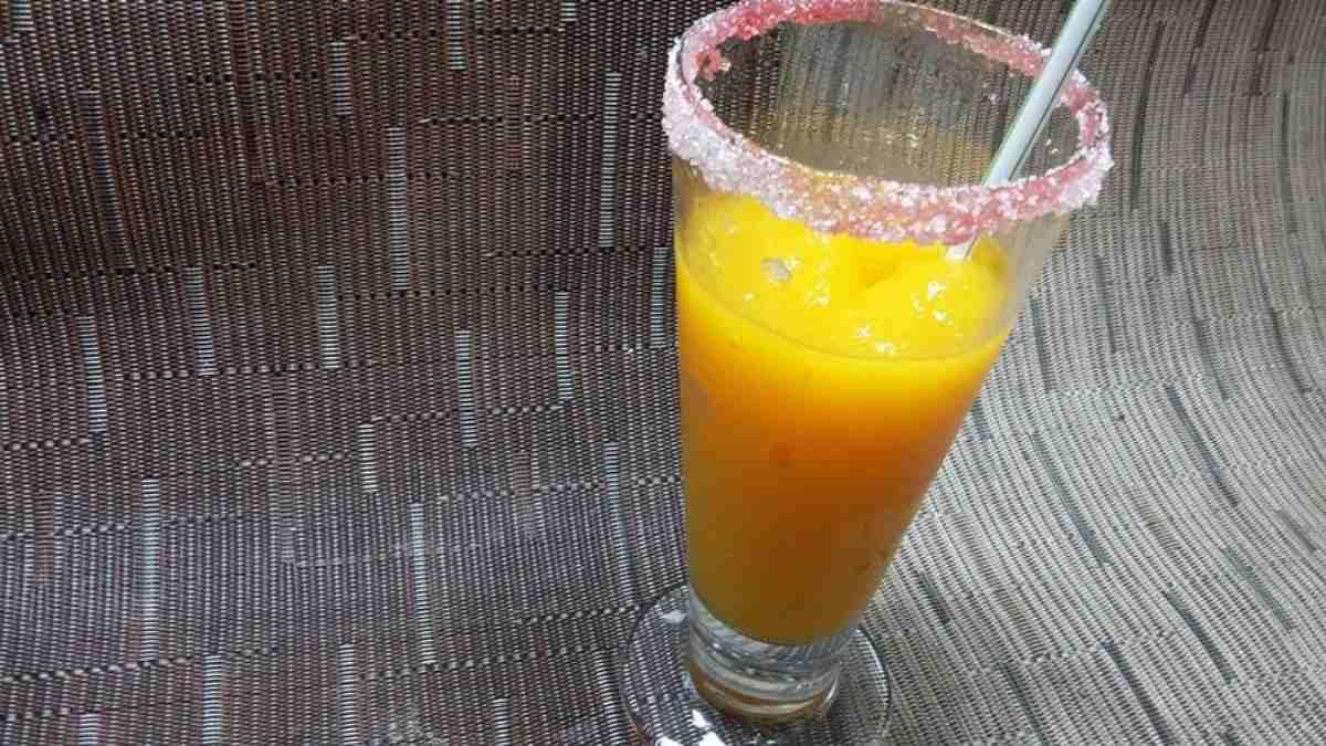 Receta de Granizado casero de mango y maracuyá 1