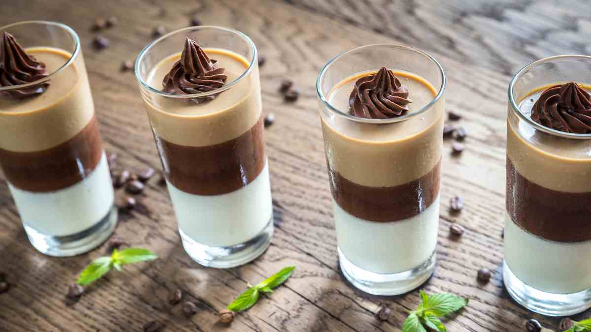 Photo of Receta de postrecitos budini de leche condensada y cacao