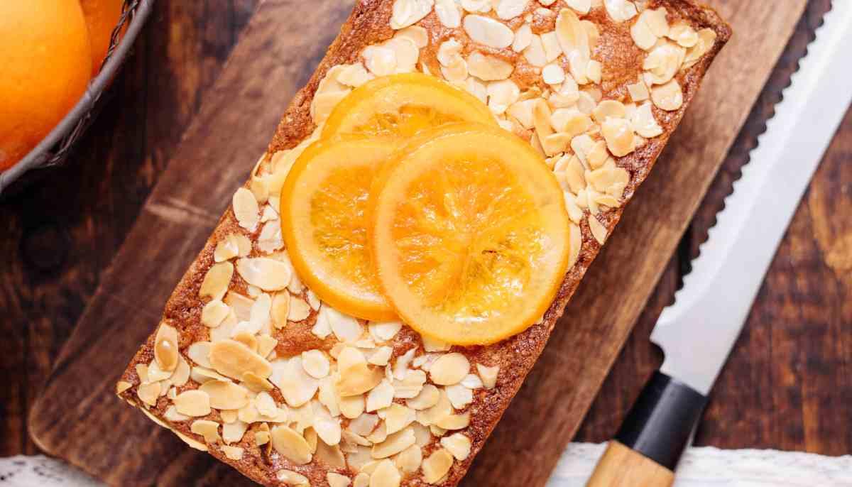 Receta de Tarta de almendras y naranja 1