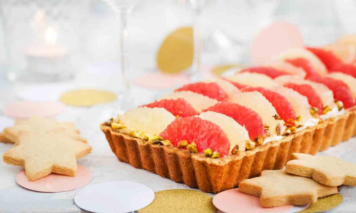 Receta de tarta de pomelo 1
