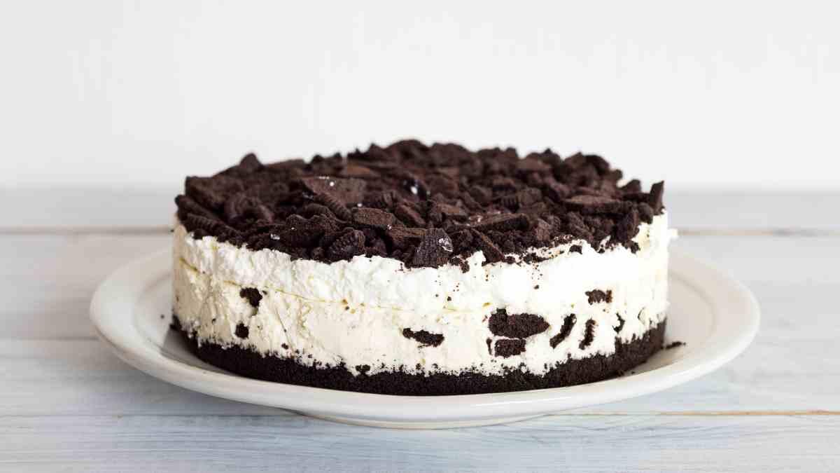 Receta para una deliciosa tarta de galletas Oreo y queso (sin horno) 1