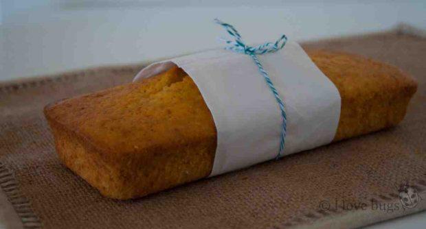 Bizcocho integral de zanahoria y coco