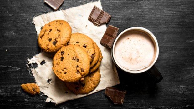 Receta de paleta de galletas de chocolate y leche