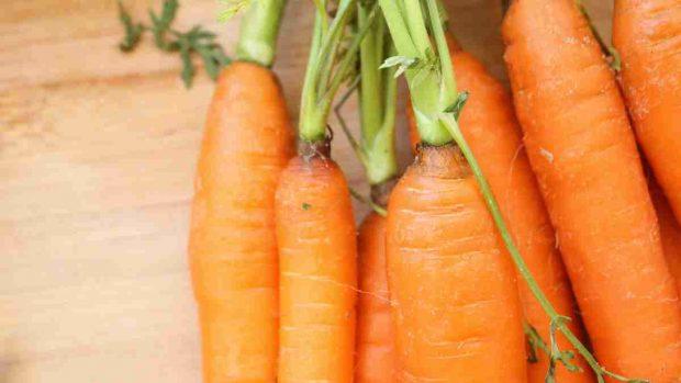 Receta fría de sopa de zanahoria, jengibre y coco