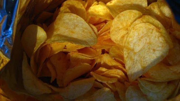 Tortilla de papas fritas