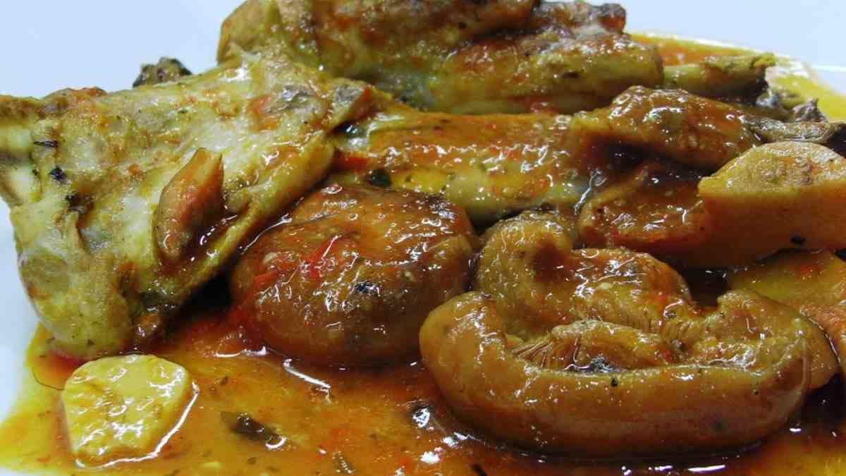 Photo of Receta de Guiso de liebre y setas de campo al aroma de Jerez