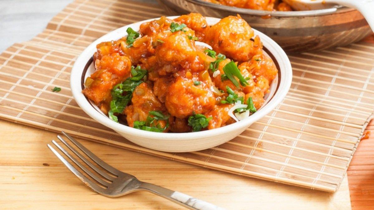 Receta de pollo con salsa agridulce de piña 1
