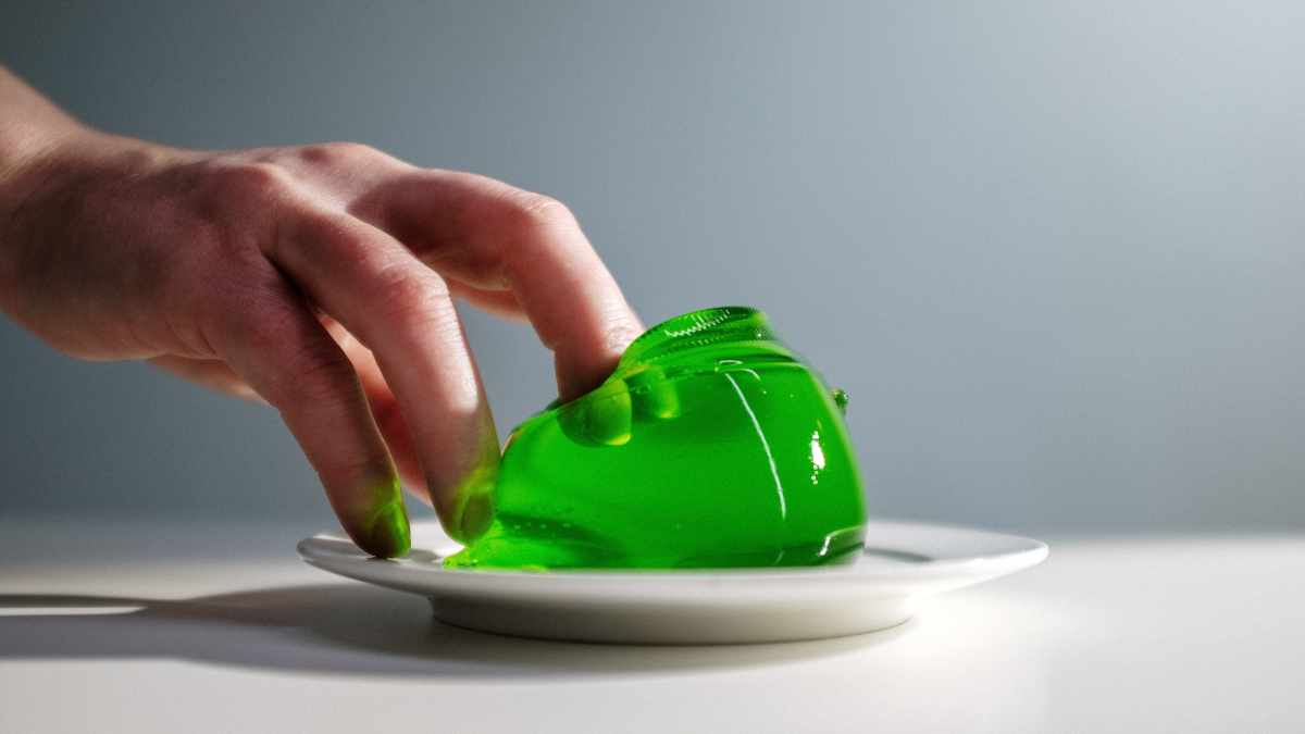 Receta de gelatina de manzana verde y chía 1
