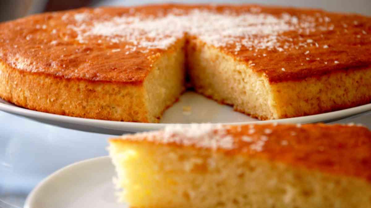 Receta de tarta de coco con ron y especias 1