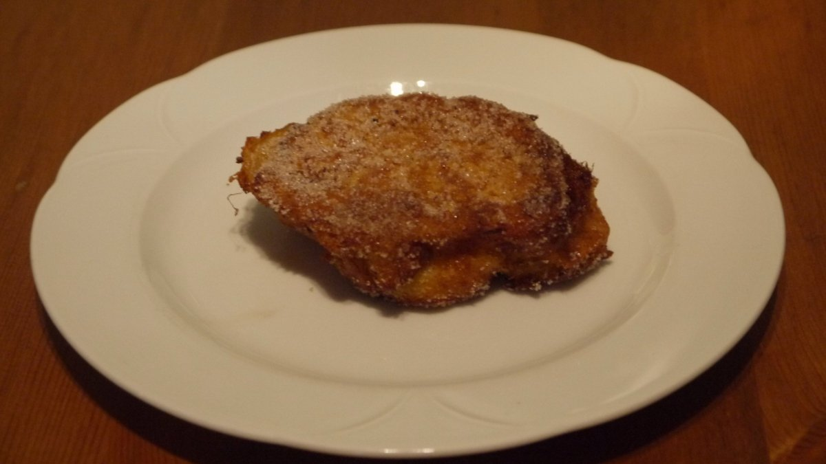Photo of Receta de Torrijas veganas de pan integral, sin azúcar