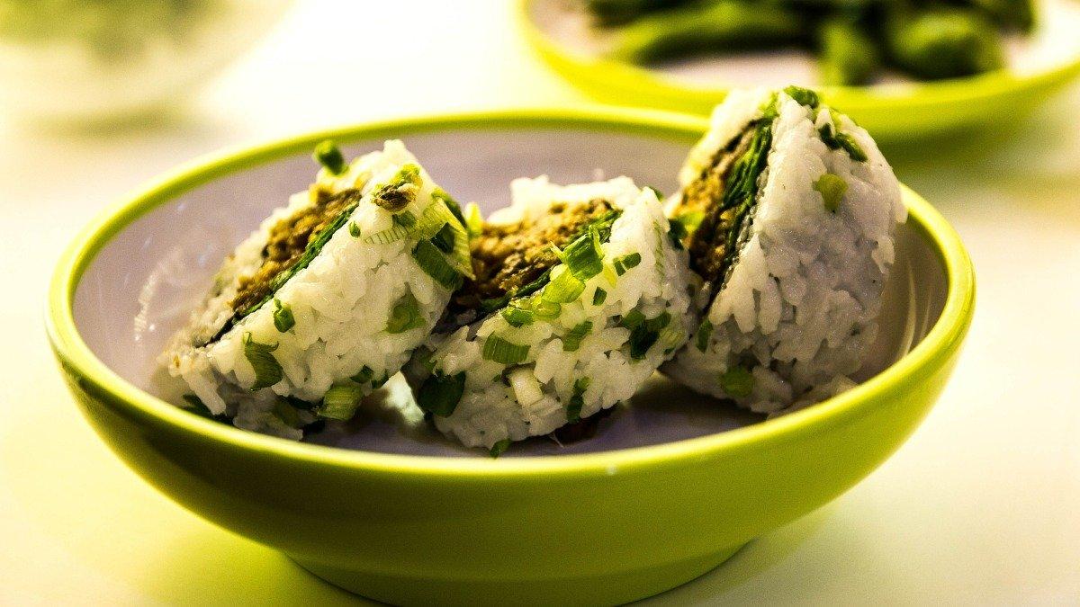 Photo of Receta de sushi de espinacas con mayonesa