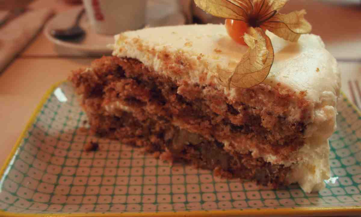 Photo of Receta de Tarta de zanahoria con crema de naranja