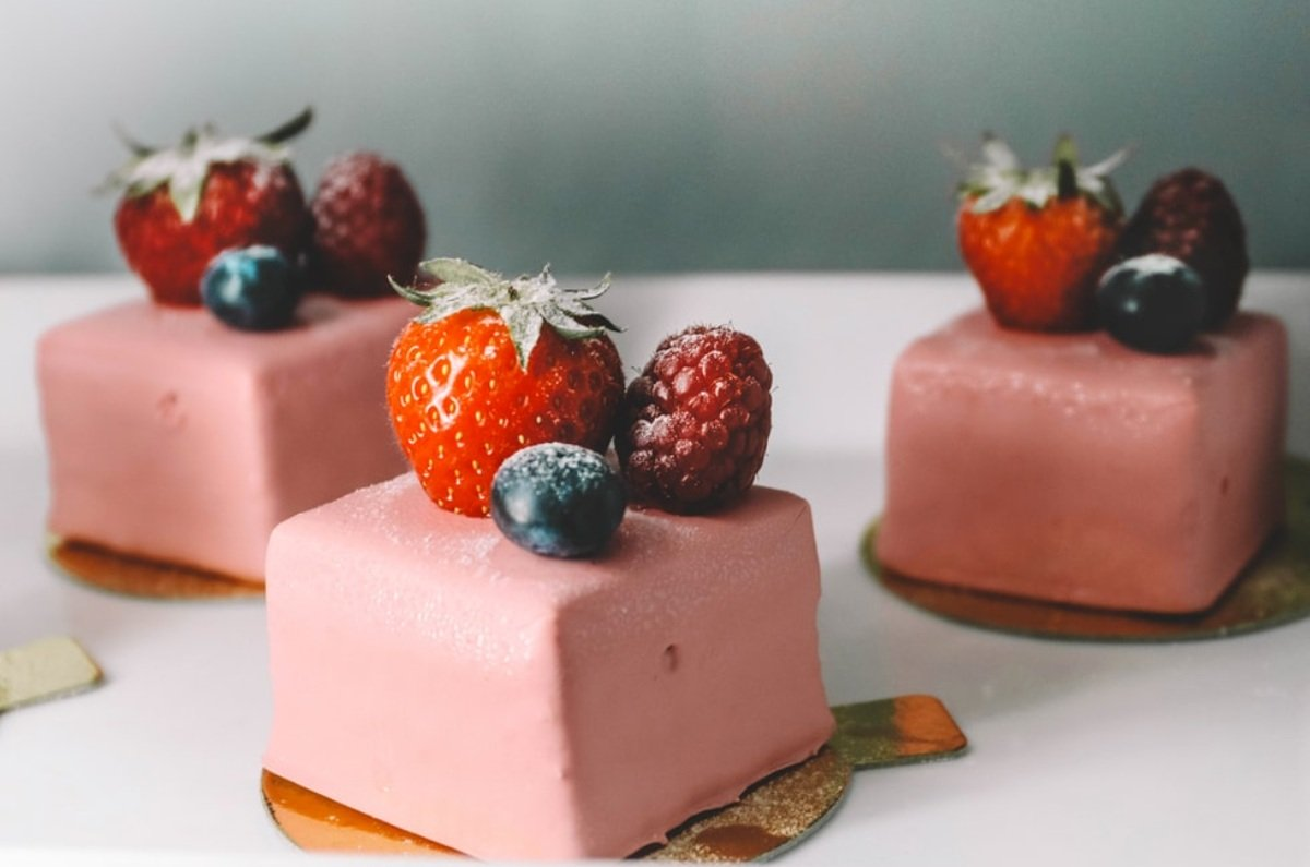 Receta de tarta fría de fresas con yogur 1