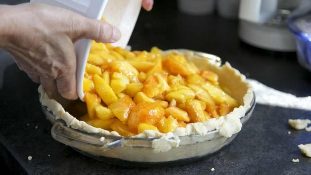 Tarta de manzana alsaciana con ron