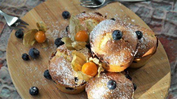 Receta de muffin de arándanos
