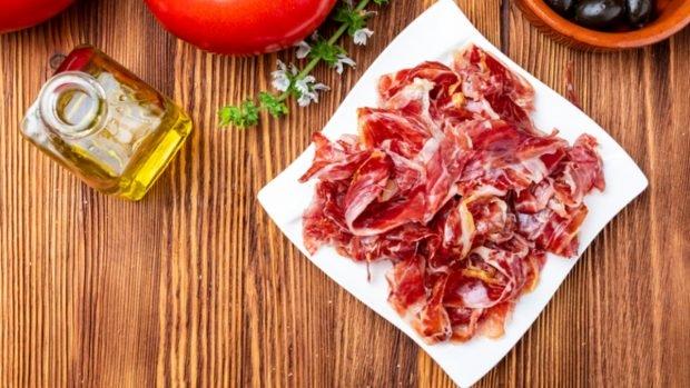 Receta de salsa de jamón serrano a la carbonara