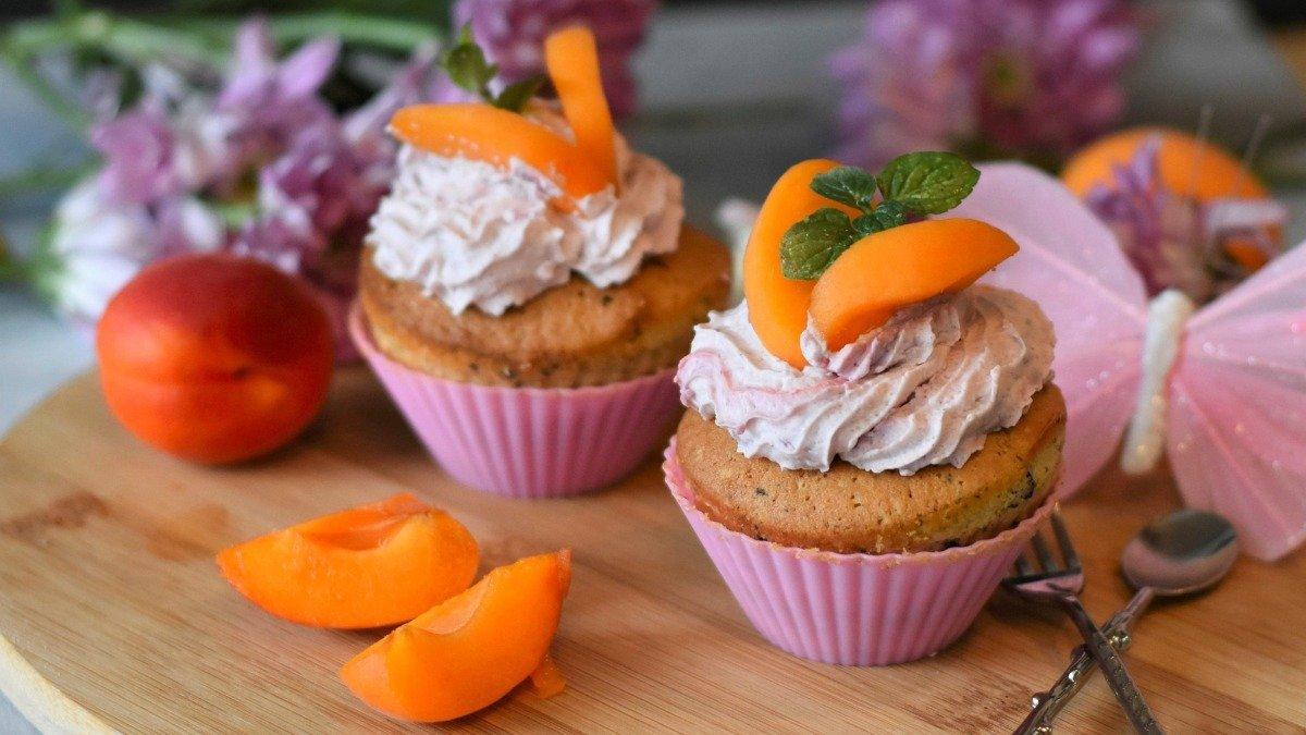 Photo of Receta de muffins de albaricoques y arándanos sin gluten ni azúcar