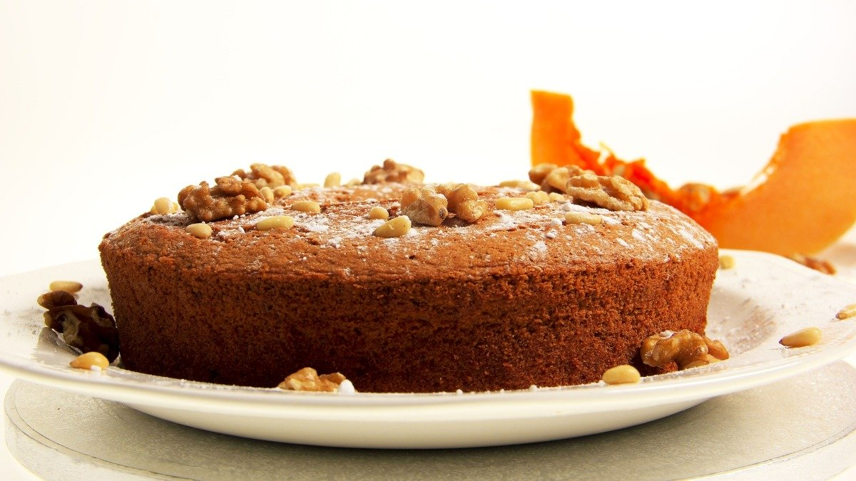 Photo of Receta de pastel de calabaza con nueces sin huevo