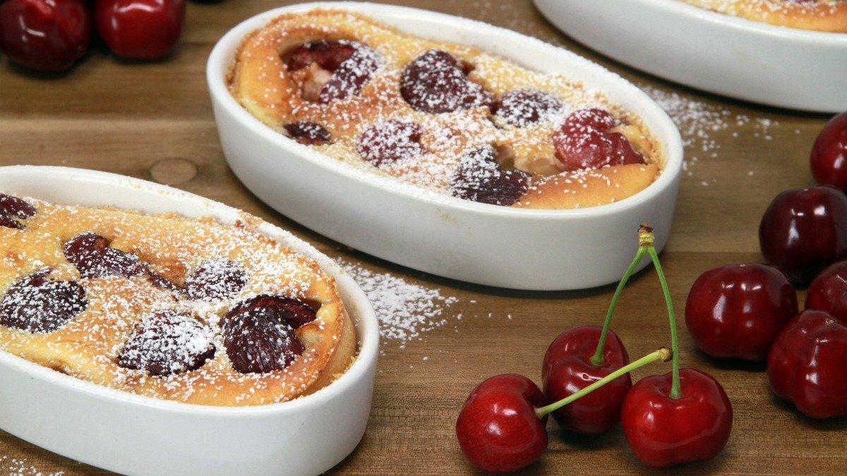 Photo of Receta de pudin de cerezas y coco saludable
