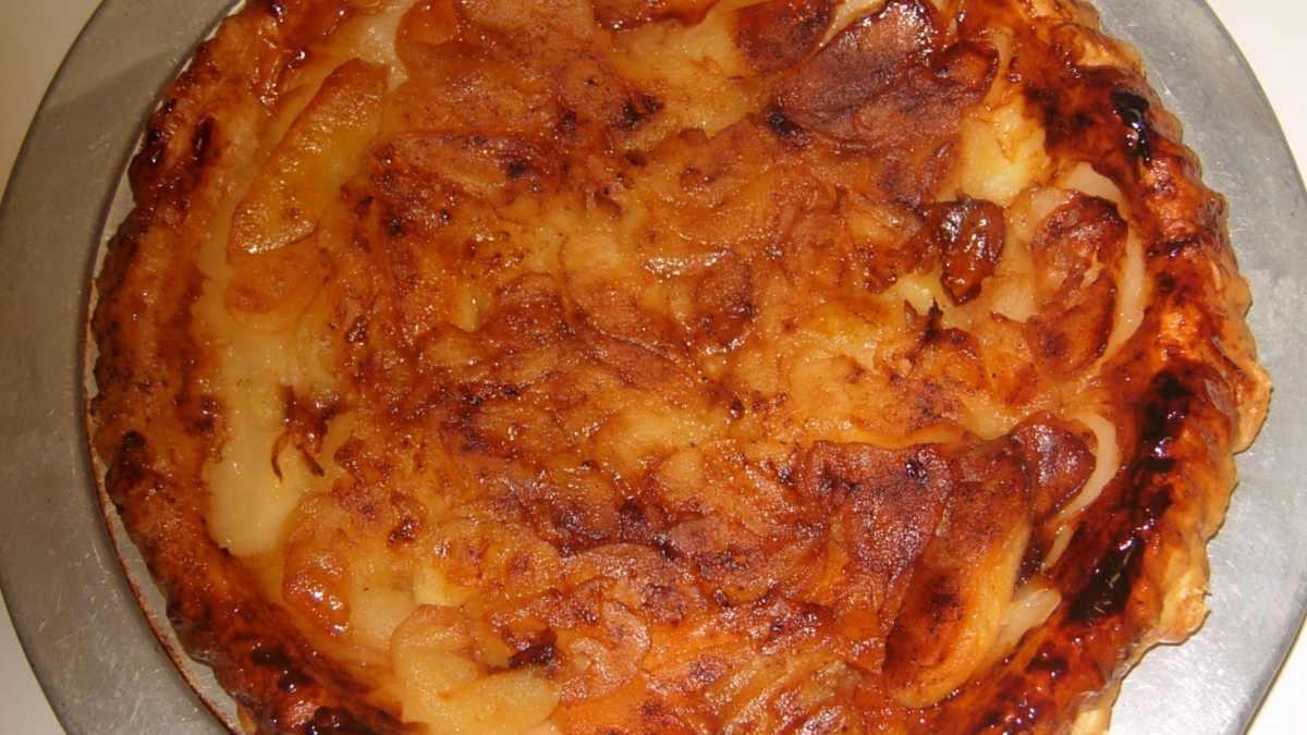 Receta de Tarta alsaciana de manzanas al ron, ¡para impresionar a tus comensales! 1