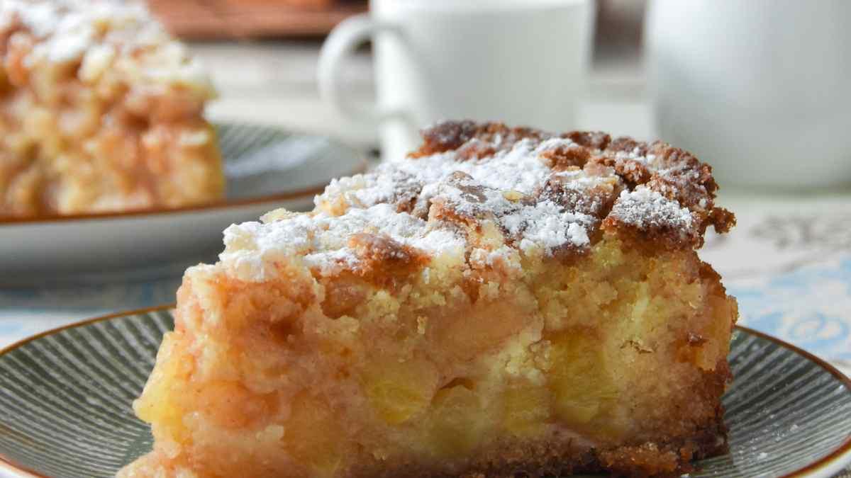 Receta de Tarta fina de manzana y chocolate blanco 1