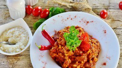 Photo of Receta de risotto al pimentón picante
