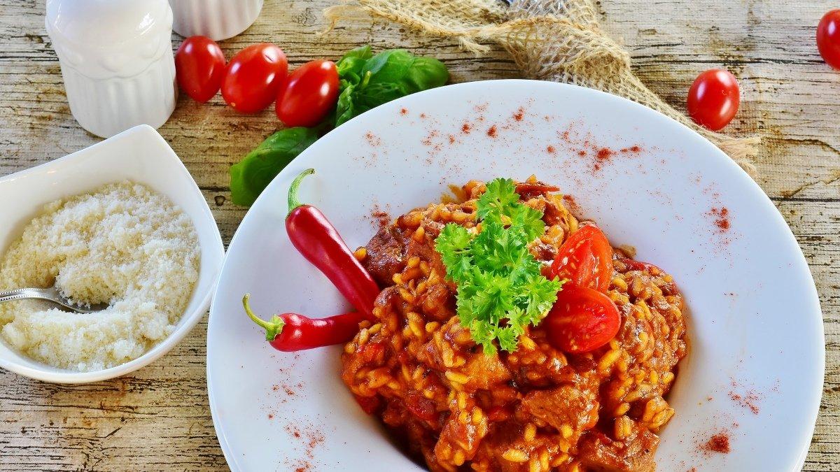 Receta de risotto al pimentón picante 1