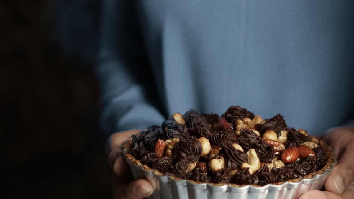 Receta de Toffee de almendras y chocolate 1