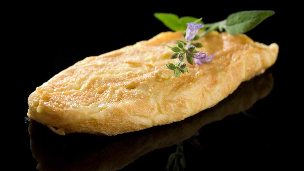 Receta de Tortilla de huevos de oca 1