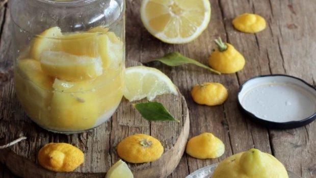 Limón en escabeche